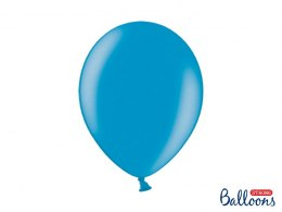 Balony Strong 30cm, Metallic Caribb. Blue (1 op. / 100 szt.)