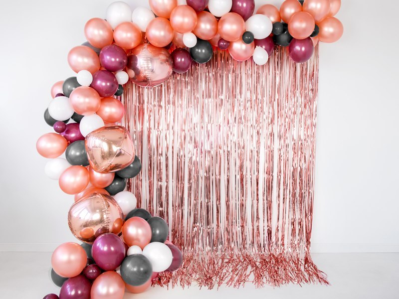 Balony Strong 30cm, Metallic Rose Gold (1 op. / 100 szt.)