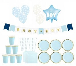 Balony girlanda zestaw na Baby Shower IT'S A BOY